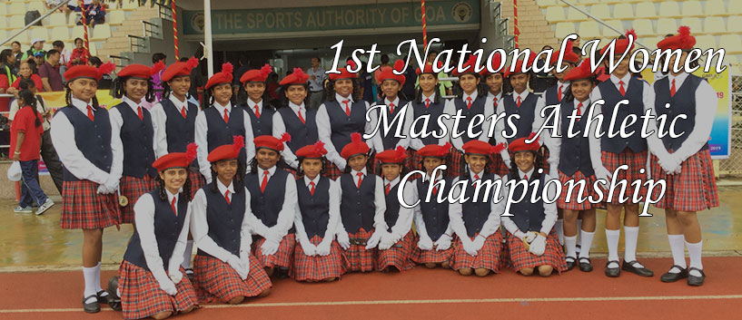 1st National Women Masters Athletic Championship